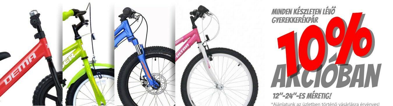 Gyerek Kerékpár Akció